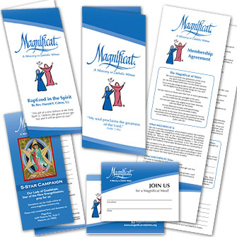 Click here to go to the Magnificat Store